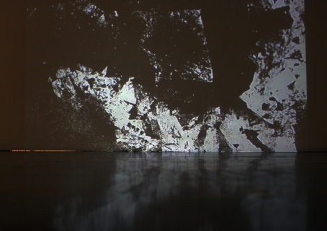 "Niels Geybels, ""Beneath the Earth,"" video installation, 2012."