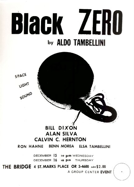 black zero poster