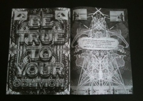 Mark Titchner, fanzine, 2011. Image courtesy of The Aesthetic Trust.