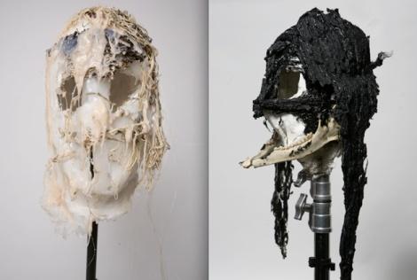Nader Sadek, masks.